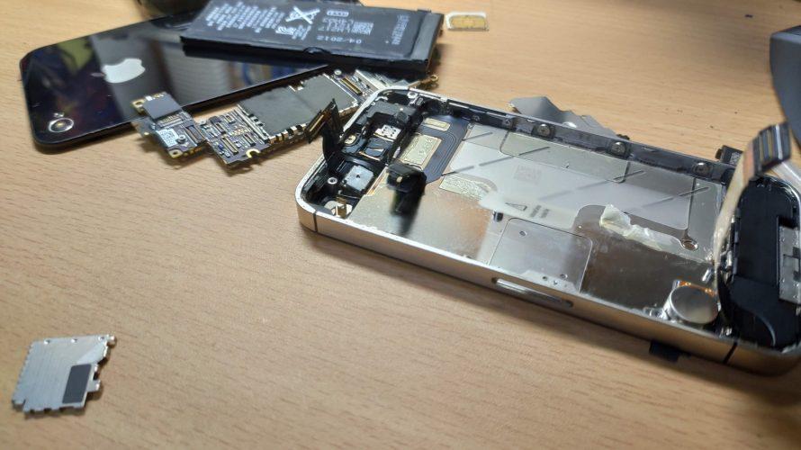 iPhone4sをニコイチ修理してみた【ジャンク修理】